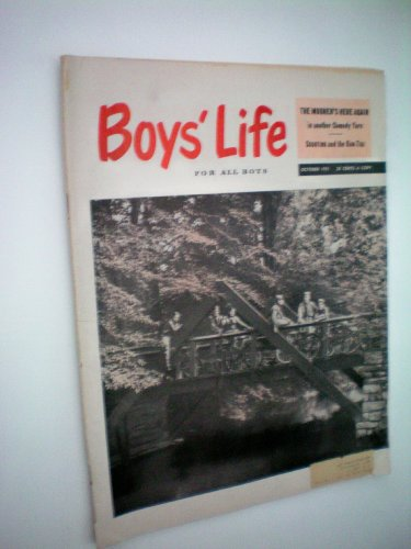 Boys' Life For All Boys -- The Boy Scout Magazine --