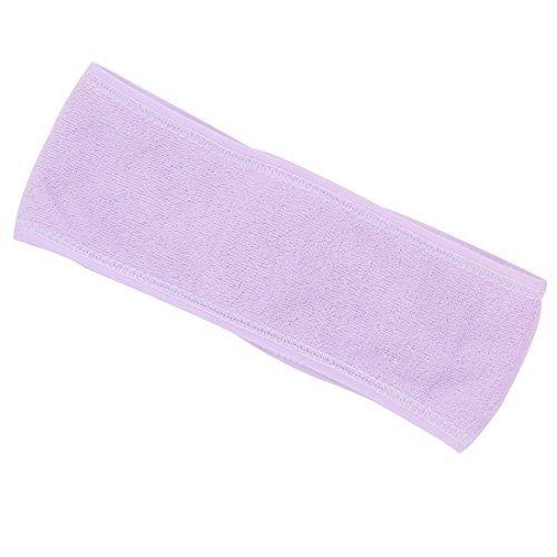 eDealMax ratine Outdoor Sport Yoga Courir Band Cheveux Bandeau Bandeau Light Purple