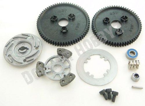 Traxxas 1/10 E-Revo * SPUR GEAR & SLIPPER * 68T & 62T 3961 3959 5351 5352X - E Gear Revo Traxxas