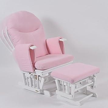 quality design 86488 85af9 Habebe Glider Rocking Nursing Recliner Maternity Chair footstool BRAKE +  WASHABLE COVERS*** …