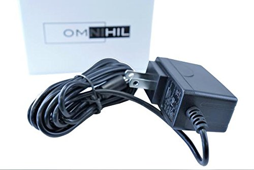 [8 FT] OMNIHIL AC/DC Power Adapter 9V 1.5A (1500mA) 3.5x1.35mm, 4.0x1.7mm, 4.8x1.7mm Regulated/UL Listed/FCC Certified (Compatible with Many Models)
