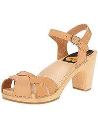 swedish hasbeens Women's Kringlan Platform Sandal