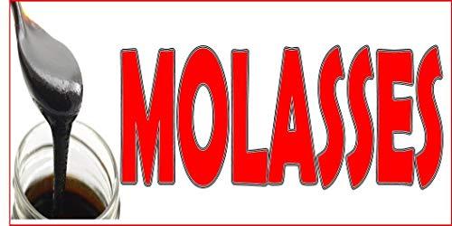 Molasses Restaurant Food Bar Decal Sticker Retail Store Sign 8
