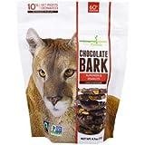 Endangered Species Chocolate, Chocolate Bark, Almonds & Peanuts, Dark Chocolate, 4.7 oz (133 g)(Pack of 3)