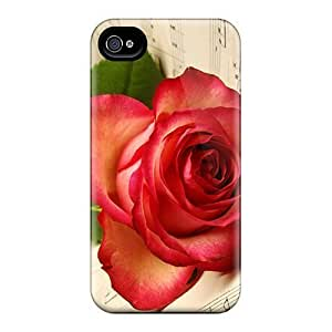Durable Defender Cases For Iphone 6 Covers(red Rose)