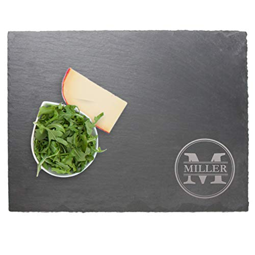 Personalized Slate Serving Tray Cheese Board - Housewarming...