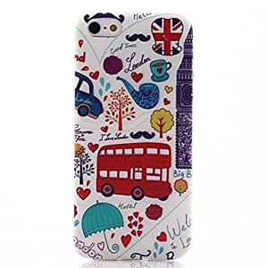 Animation Pattern Soft TPU Case for iPhone 5/5S
