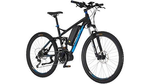 FISCHER FAHRRAEDER E-Bike Mountainbike ProlineEvo EM1609, 27,5 Zoll, 9 Gang, Mittelmotor, 504 Wh 70 cm (27,5 Zoll)