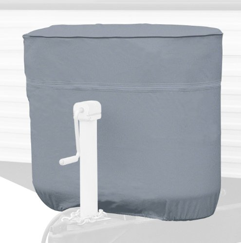 Classic Accessories 80-100-151001-00 RV Propane Tank Cover, Grey, Fits Dual 30 - 7.5 Gallon Tanks (Hundred Gallon Propane Tank compare prices)