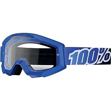 100% Unisex-Adult Speedlab (50400-234-02) STRATA Goggle Huntsitan-Clear Lens, One Size