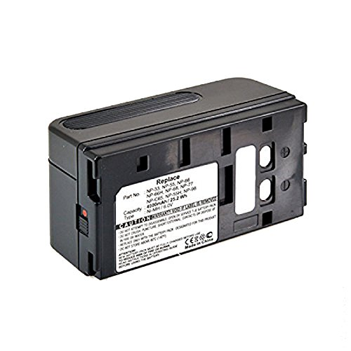 Digital Replacement Camera and Camcorder Battery for sony NP-33, NP-55,...
