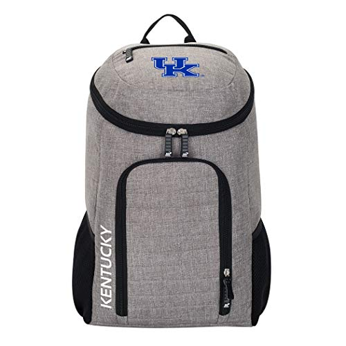 The Northwest Company Officially Licensed NCAA Kentucky Wildcats Topliner Backpack, Gray, 19