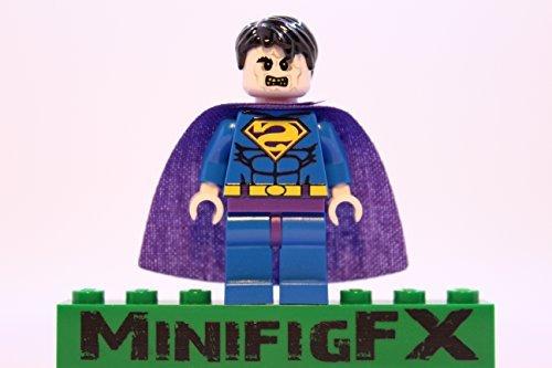 Custom Lego Bizarro Minifig DC Comics Super Hero Bizarro League Superman