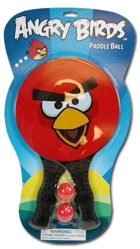 Angry Birds Paddle Ball Play (Paddleball Case)