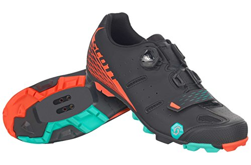 Black Scott Women's Boa Orange 2017 MTB Shoes Elite Cycling Y7qftxvr7S