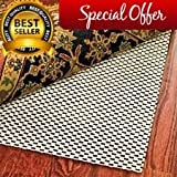 Extra Thick High Quality Premium Area Rug Underpad Pad 7 By 10 Feet Rugs On