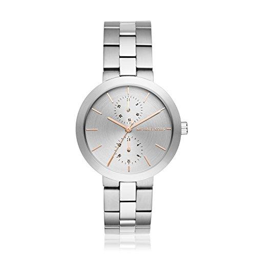 Michael Kors Women's Garner Silver-Tone Watch MK6407