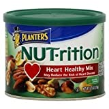 Planters Nut-Rition Heart Healthy Mix 9.75OZ (Pack of 24)