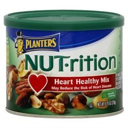 Planters Nut-Rition Heart Healthy Mix 9.75OZ (Pack of 24) by Planters