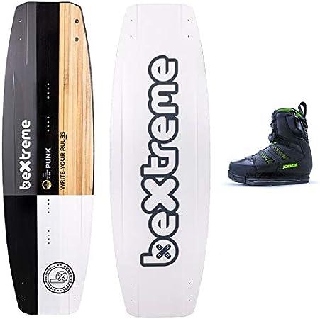 Bextreme Tabla Wakeboard Punk 146cm Botas Wakeboard Jobe Wake Para Cable Wakepark Y Barca Con Agujeros Para Quillas Apta Para Kiteboard Tabla Wake Para Hombre Eco Amazon Es Deportes Y Aire Libre