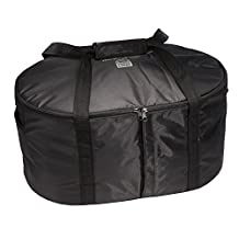 Hamilton Beach 33002 Crock Caddy Insulated Bag, Black, 4-8 quart