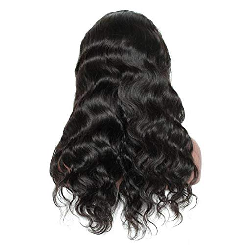 Price comparison product image Tulas Fashion Women 24inch High Temperature Fibre Body Wave Lace Front Wig Glueless Lace Wig Hair Bundle Accessories