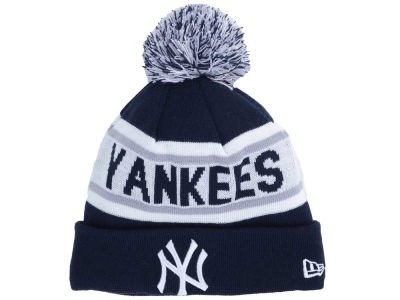 MLB New York Yankees New Era Biggest Fan Redux Knit Beanie, One Size, Navy