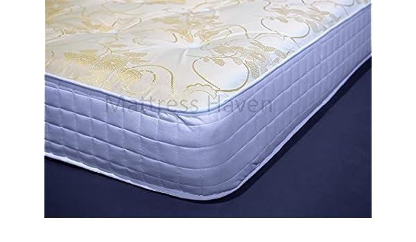 5 pies king tamaño de memoria colchón con muelles y espuma acolchada: Amazon.es: Hogar