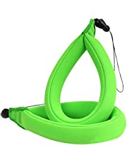 Waterproof Camera Float Strap, (2-Pack) MoKo Floating Foam Wrist Strap Hand Strap for Underwater Digital Cameras,Fit Nikon, Olympus, Canon, Camcorders, iPhone, Oakleys, Sunglasses - Green