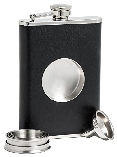Shot-Flask-Stainless-Steel-8-oz-Hip-Flask-Built-in-Collapsible-2-Oz-Shot-Glass-Flask-Funnel-Everything-You-Need-to-Pour-Shots-on-the-Go-BarMe-Brand