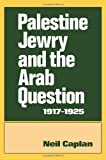 Palestine Jewry and the Arab Question, 1917-1925, Neil Caplan, 0714631108