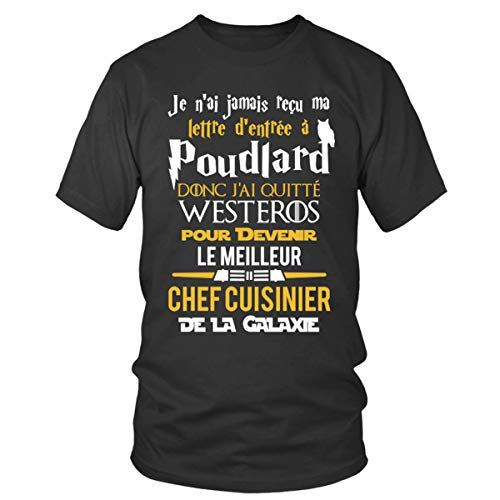 Cuisinier La Guerre Fer Fans T Rond Travail Métiers Top Geek De Chef shirt Poudlard Col Homme Étoiles Le Trône Des Galaxie Collection dwaWqIp