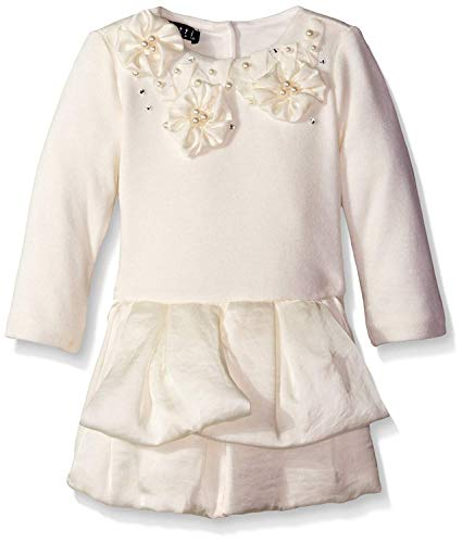 Biscotti Kate Mack Baby-Girls Creme Fraiche Dress, Cream, 9 Months