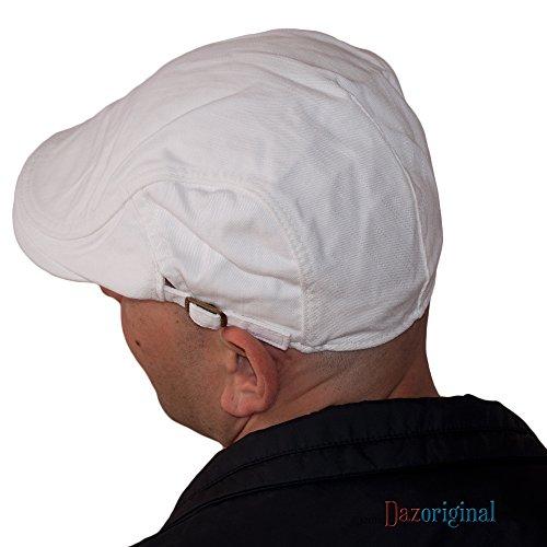 5aaea50bf68d Gatsby Plano Sombrero Beret Hombre Blanco Mujer Dazoriginal Ivygorra ...