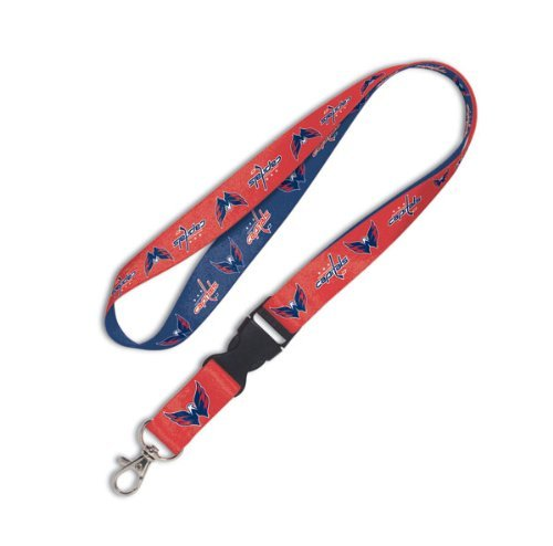 NHL Washington Capitals Lanyard with Detachable Buckle