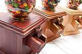 Hand-made Wooden Candy Dispenser - M&M Peanut