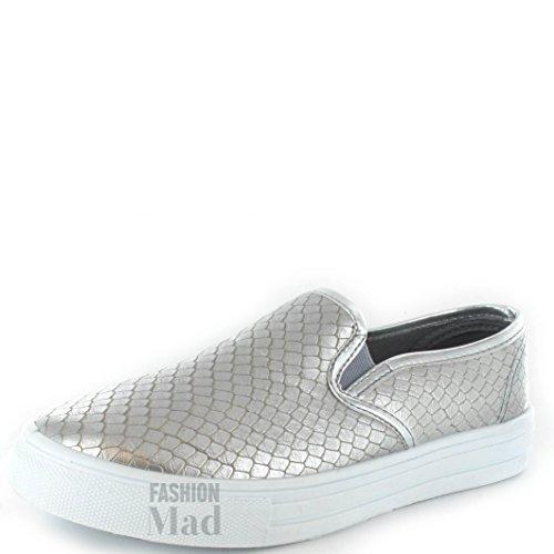Silver Donna Black Generic Sneaker Croc Nero w575IHWq