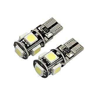 Internet 10 X Canbus Libre de Errores Blanco T10 5-SMD 5050 W5W 194 16 Bombilla LED Interior: Amazon.es: Ropa y accesorios