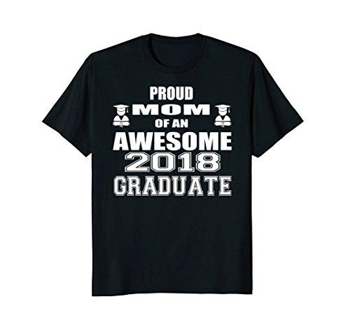 High School Graduation Mom T Shirt College Graduation Gift -