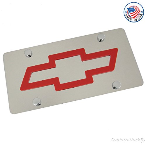 chevy bow tie license plate - 5