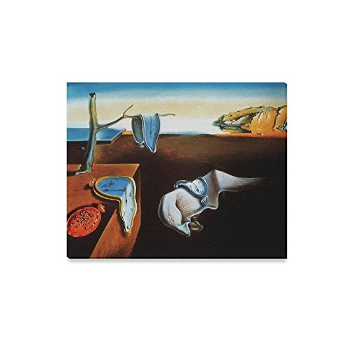 Famous Wall Painting The Persistence of Memory By Salvador Dali Pattern Home Decorative Canvas Prints- 20x16 Inch(One Side) (Salvador Dali Artwork)