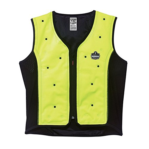 Ergodyne Chill Its 6685 Lime Dry Evaporative Cooling Vest...