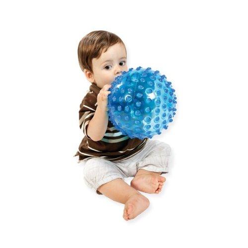 Baby To Love Balle Tactile Transparente Mention Aléatoire