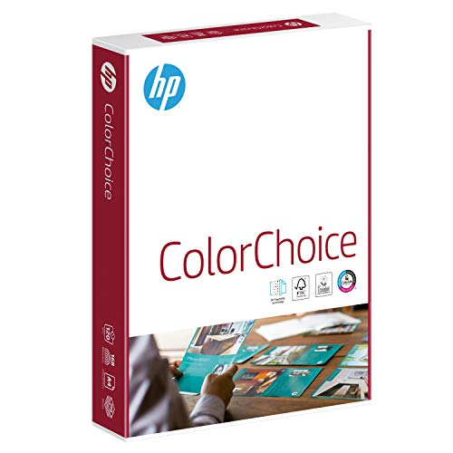HP Papers CHP752 120GSM A4 Color Laser Paper, 500