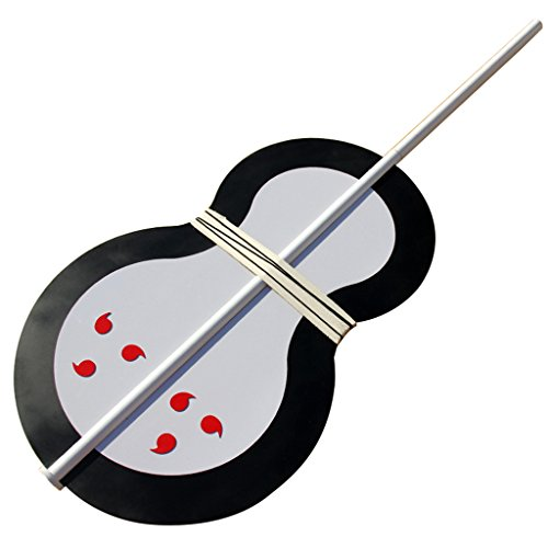 Mtxc Naruto Cosplay Tobi Weapons Fan Silver