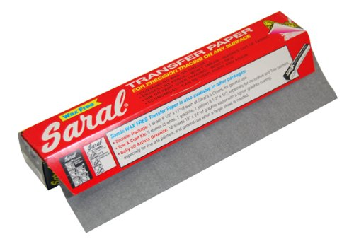 Saral Transfer Tracing Paper -Wax Free ~Big 12 Foot Long Roll - Paper Wax Art