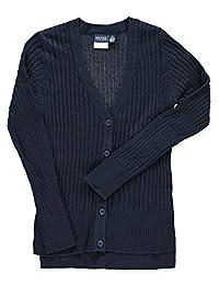 Nautica Big Girls' Ribbed Boyfriend Sweater