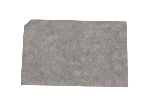 FILTER CORP F-16 Case of 9.6 Inch X 15.0 Inch Carbon Pads