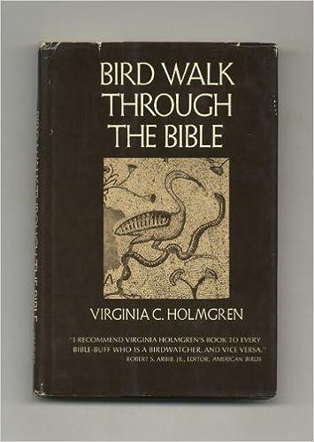 Book Bird walk through the Bible
