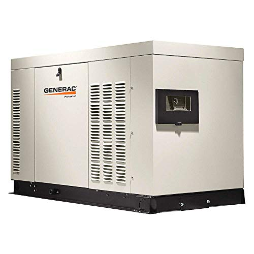 Generac RG03015ANAX Protector Series, 30kW Liquid Cooled Standby Generator, Diesel Powered, Single Phase, Aluminum Enclosed (Discontinued by Manufacturer)